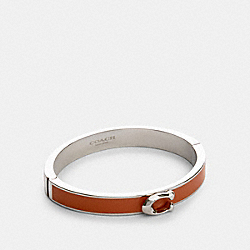 COACH 67480 Signature Push Hinged Bangle SV/SUNRISE