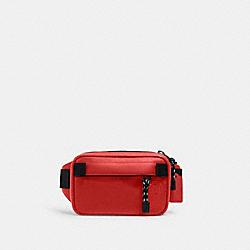 COACH 6786 - MINI EDGE BELT BAG QB/BRIGHT CARDINAL