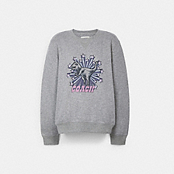 RETRO STAR REXY CREWNECK SWEATSHIRT - 67895 - GREY
