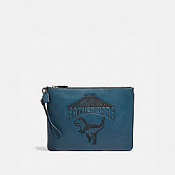 COACH 67911 - POUCH 30 WITH SUPER REXY DENIM