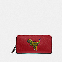COACH 68257 Accordion Wallet With Rexy REXY RED