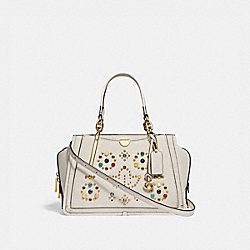 COACH 68291 - DREAMER WITH RIVETS GD/CHALK