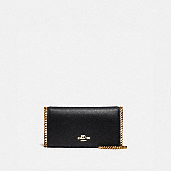 COACH 68338 Convertible Belt Bag GD/BLACK