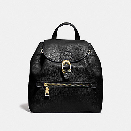COACH 68555 EVIE BACKPACK 22 BLACK/BRASS