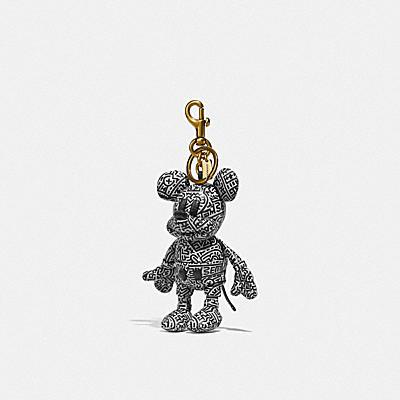 ディズニー ミッキー マウス X キース・ヘリング コレクティブル バッグ チャーム