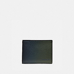 COACH 68974 - SLIM BILLFOLD WALLET OLIVE/NAVY