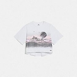 COACH 69006 - LANDSCAPE T-SHIRT WHITE