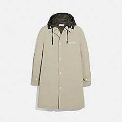 REXY AND CARRIAGE COAT WITH HOOD - 69160 - STONE