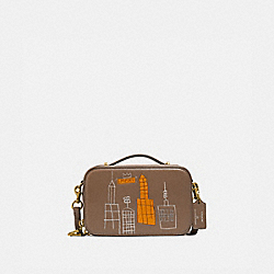 COACH 6916 - COACH X JEAN-MICHEL BASQUIAT ALIE BELT BAG B4/ELM