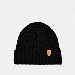COACH 6917 - KNIT BEANIE BLACK