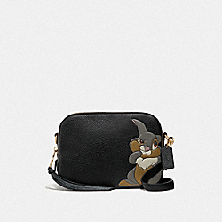 DISNEY X COACH CAMERA BAG WITH THUMPER - 69253 - GD/BLACK