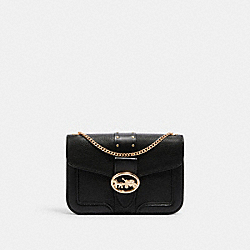 COACH 6925 - GEORGIE CROSSBODY WITH RIVETS IM/BLACK