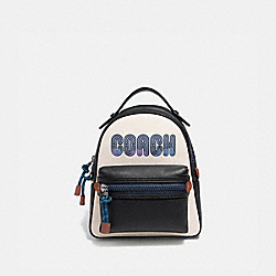 COACH 69440 - CAMPUS BACKPACK 23 WITH COACH PRINT CHALK/GUNMETAL