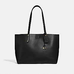 CENTRAL TOTE - GD/BLACK - COACH 69450