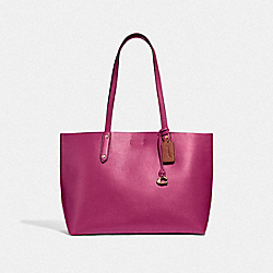 CENTRAL TOTE - GD/BRIGHT CHERRY - COACH 69450