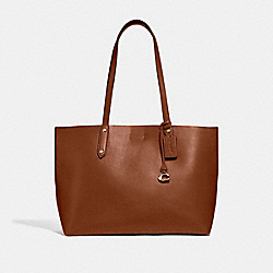 CENTRAL TOTE - 1941 SADDLE/GOLD - COACH 69450