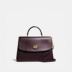 COACH 69519 - PARKER TOP HANDLE 32 B4/OXBLOOD