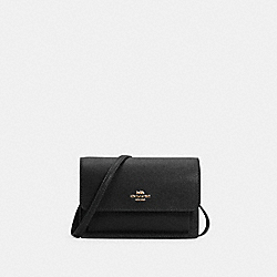 COACH 6959 - FOLDOVER BELT BAG IM/BLACK