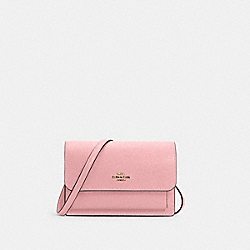 FOLDOVER BELT BAG - 6959 - IM/BUBBLEGUM