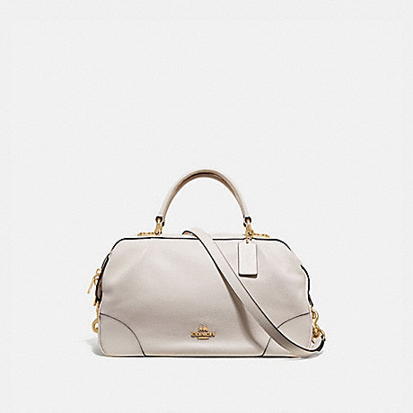 COACH 69621 LANE SATCHEL CHALK/GOLD