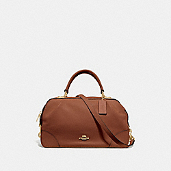 COACH 69621 - LANE SATCHEL 1941 SADDLE/GOLD