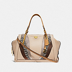 COACH 69656 Dreamer 36 With Wave Patchwork B4/IVORY MULTI
