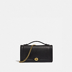 RILEY CHAIN CLUTCH - B4/BLACK - COACH 69969