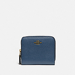 BILLFOLD WALLET IN COLORBLOCK - 719 - BRASS/DARK DENIM MULTI