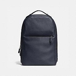 COACH 72306 Metropolitan Soft Backpack MIDNIGHT NAVY/BLACK/BLACK ANTIQUE NICKEL