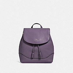 COACH 72645 - ELLE BACKPACK SV/DUSTY LAVENDER