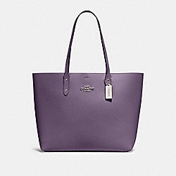 TOWN TOTE - 72673 - SV/DUSTY LAVENDER