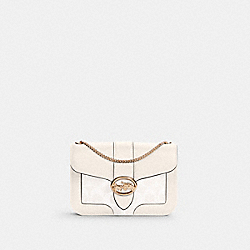 COACH 7287 - GEORGIE CROSSBODY IN SIGNATURE CANVAS IM/CHALK/CHALK