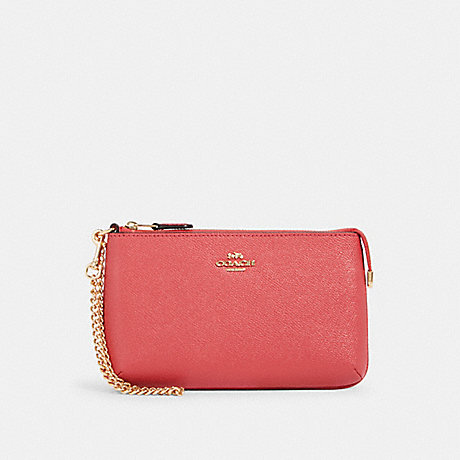 COACH 73044 LARGE WRISTLET IM/POPPY