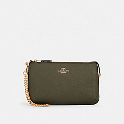 COACH 73044 - LARGE WRISTLET IM/CANTEEN