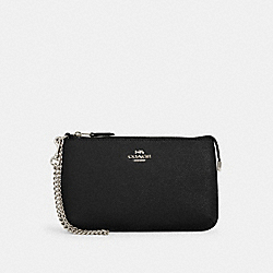COACH 73044 - LARGE WRISTLET SV/BLACK