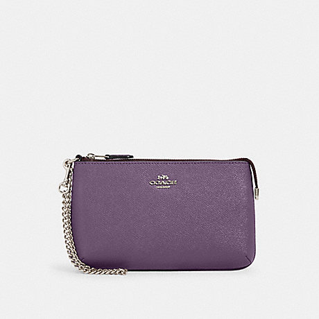 COACH 73044 LARGE WRISTLET SV/DUSTY-LAVENDER