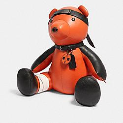 COACH 7345 Coach X Michael B. Jordan Naruto Collectible Bear QB/MULTI