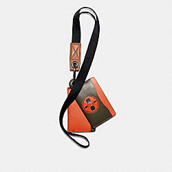 COACH 7346 Coach X Michael B. Jordan Multi Card Case Id Lanyard QB/NINJA GREEN
