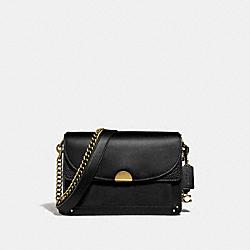 COACH 73547 Dreamer Shoulder Bag B4/BLACK