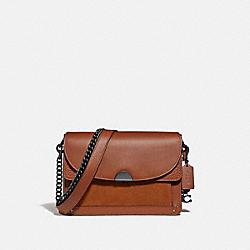 COACH 73547 Dreamer Shoulder Bag V5/1941 SADDLE