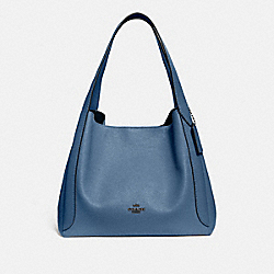 COACH 73549 - HADLEY HOBO GUNMETAL/STONE BLUE