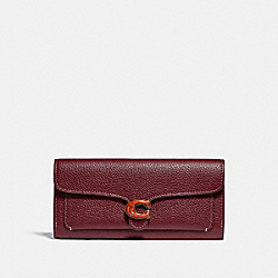 TABBY LONG WALLET - 7365 - B4/WINE