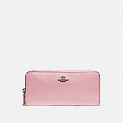 COACH 73738 - SLIM ACCORDION ZIP WALLET V5/AURORA