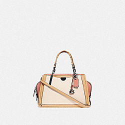COACH 73766 - DREAMER 21 IN COLORBLOCK WITH RIVETS IVORY MULTI/PEWTER