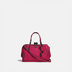 COACH 73935 Kisslock Dreamer 21 BRIGHT CHERRY/BRASS