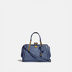 COACH 73935 - KISSLOCK DREAMER 21 WASHED CHAMBRAY/BRASS
