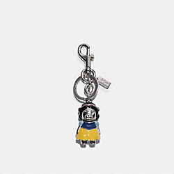 DISNEY X COACH SNOW WHITE BEAR BAG CHARM - SV/MULTI - COACH 7539