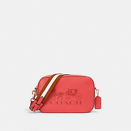COACH 75818 JES CROSSBODY IM/BRIGHT CORAL