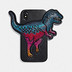 COACH 75868 - IPHONE XR CASE WITH REXY MULTI/BLACK