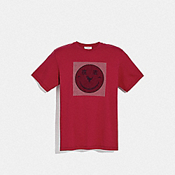 COACH 75975 - REXY BY YETI OUT T-SHIRT RED